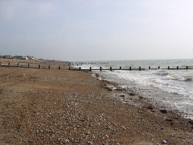 The beach at Angmering