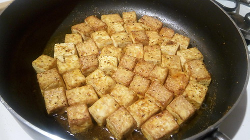 Fried tofu | by goblinbox_(queen_of_ad_hoc_bento)