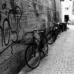 City of bicycles (Leica M6)
