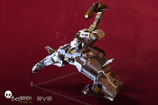 EVE online's custom Scorpion battleship | SHIPtember 2015 | by Brixnspace