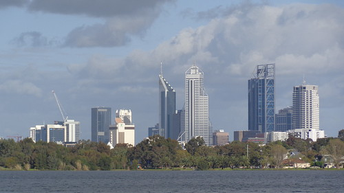 city urban lake water skyline skyscraper buildings skyscrapers lakes australia perth cbd westernaustralia monger urbanlandscape lakemonger