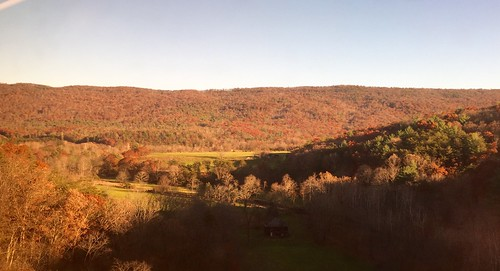 mountains fall virginia amtrakviews