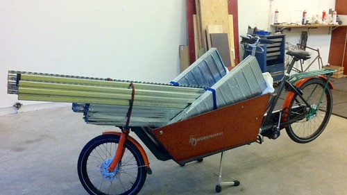 WorkCycles Kr8 with 150kg shelving