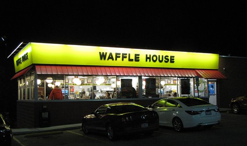 Waffle House at Night | by Gerry Dincher