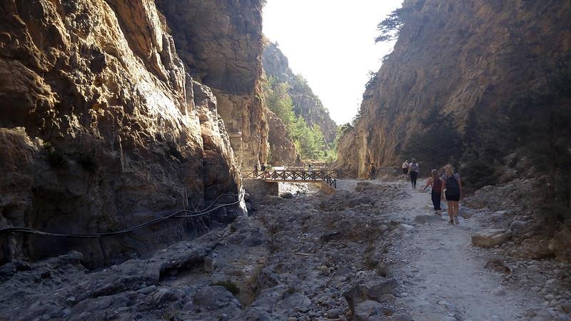 """Samaria Gorge"" Crete Greece"