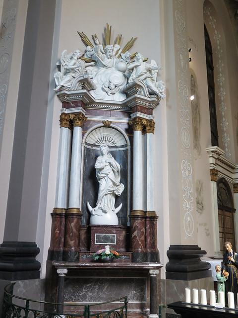 Wittem (L) rk kerk zij altaar