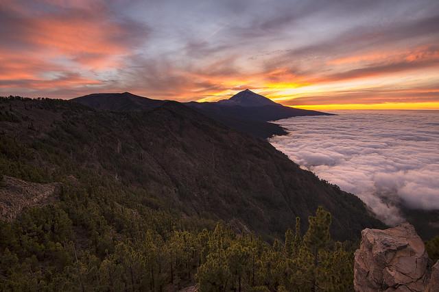 El Teide desde Ayosa