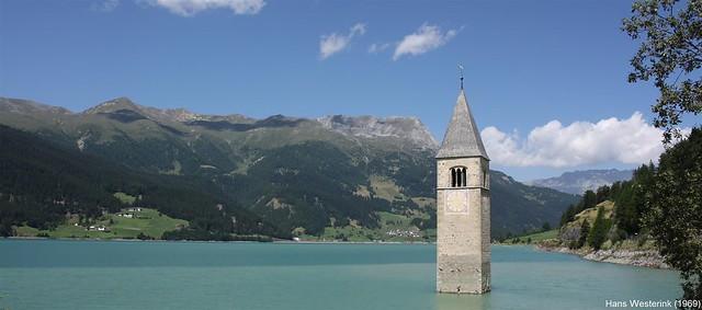 Reschensee / Lago di Resia, Italy
