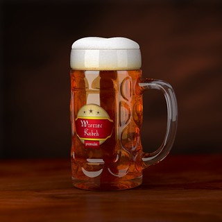 Patterned Beer Mug 3D Model | by M.O.Z.G