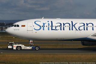 4R-ALP A330-343 UL 553 CMB-FRA | by Giancarlo Scolari