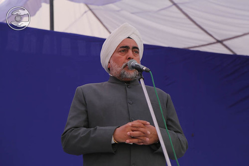 SNM Branch Sanyojak, Sukhdev Singh from Amritsar, expresses his views