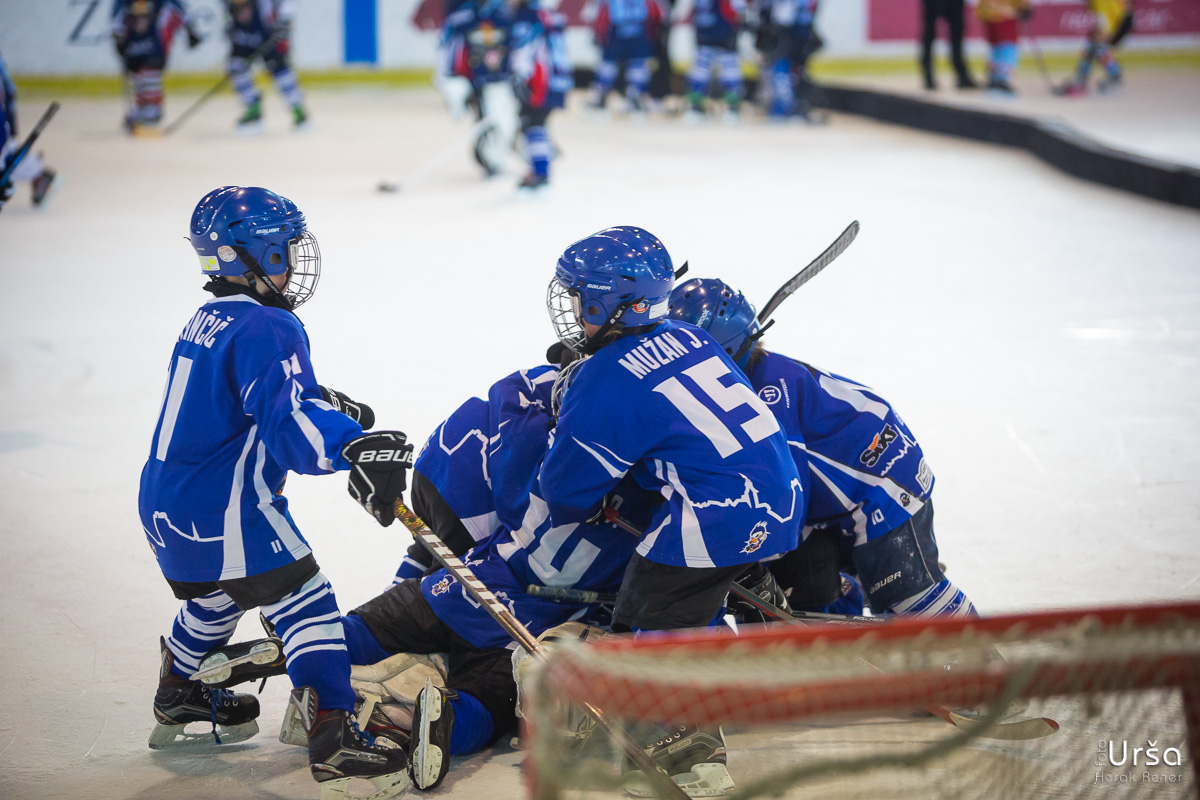 13. odprto prvenstvo Zagreba v hokeju na ledu U8 in U10 (1.dan)