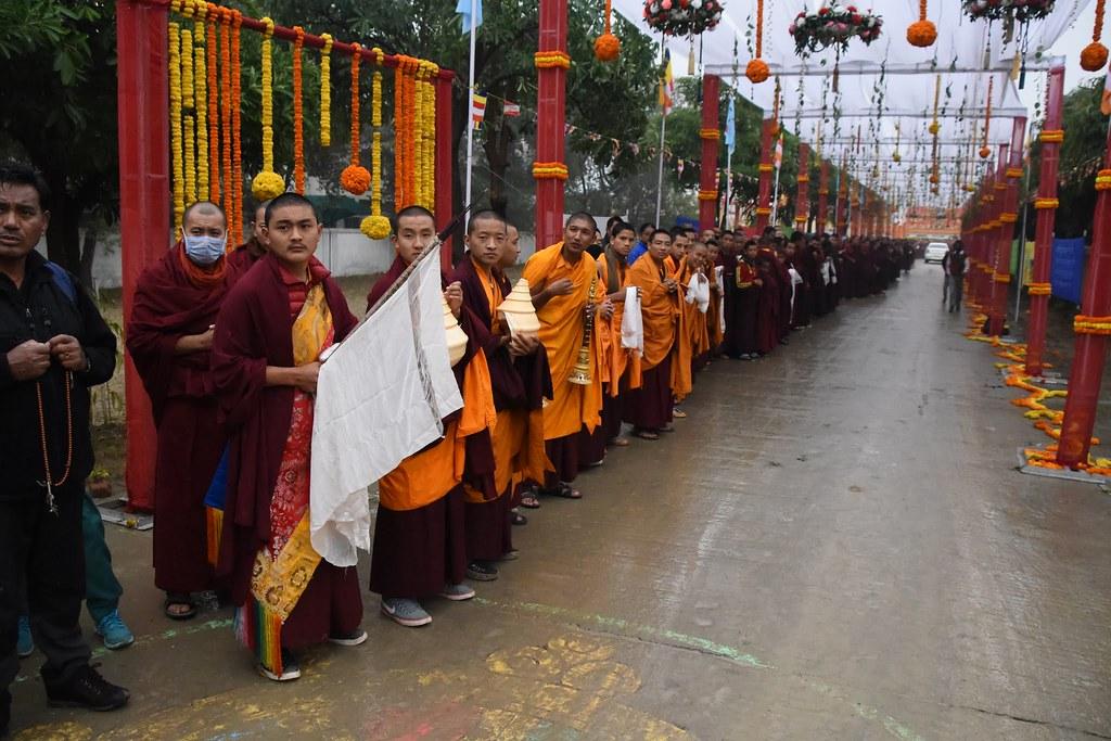 2016.01.20 The Gyalwang Karmapa Consecrates The New Nyingma Temple in Bodhgaya
