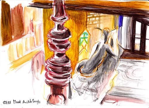 Cle_mence Bevilacqua Sketchcrawl 28.01.17-02   by grenoblesketchcrawl