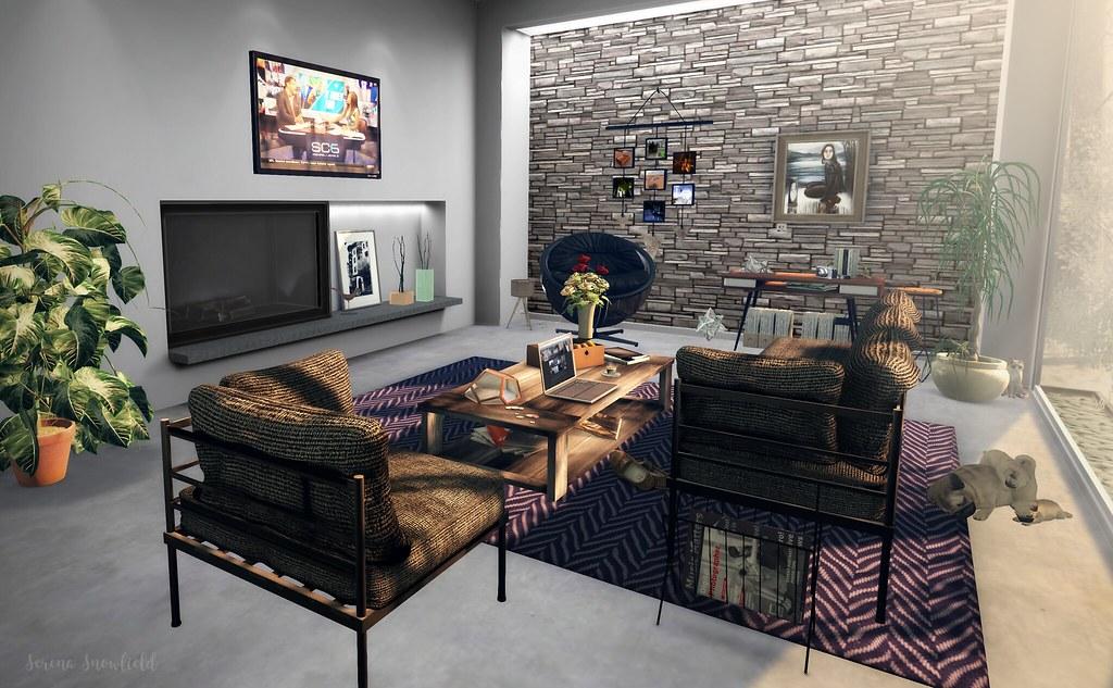 "Sunday Morning Bachelor Pad | Some ""minimalist"" decor items … | Flickr"