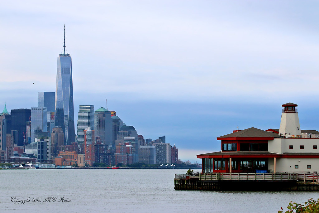 FREEDOM TOWER & Downtown + NJ Side Chart House Restaurant ...