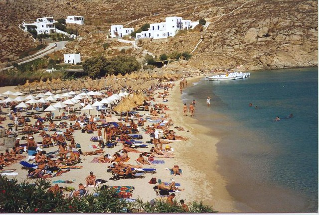 Best Island Beaches For Partying Mykonos St Barts: This Is The Super Paradise Nude Beach
