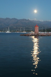 moon over the lighthouse | by topher76