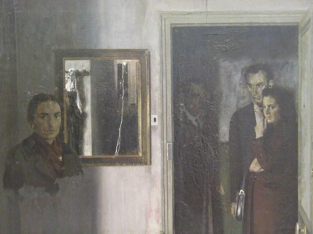 Figuras en una casa, 1967 - Antonio Lopez Garcia