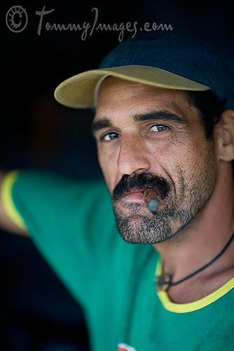 246a7b062 A Cuban man smoking a cigar | Vinales, Cuba - A tobacco farm… | Flickr