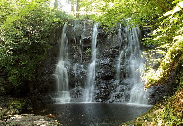 Glenariff Glen Waterfall