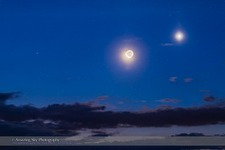 Waning Moon with Venus and Mars | by Amazing Sky Photography