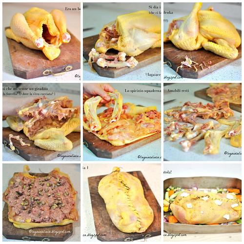 pollo ripieno con salsiccia e pistacchi gluten free | by mammadaia