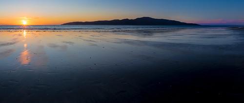 beach coastallandscape coastline evening island kapiticoast kapitiisland landscape nature newzealand northisland paraparaumu paraparaumubeach seascape sunset wellington nz