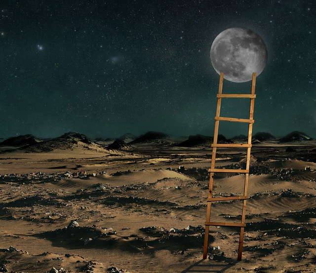 6 Steps to the Moon
