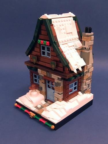 Winter Village Cottage