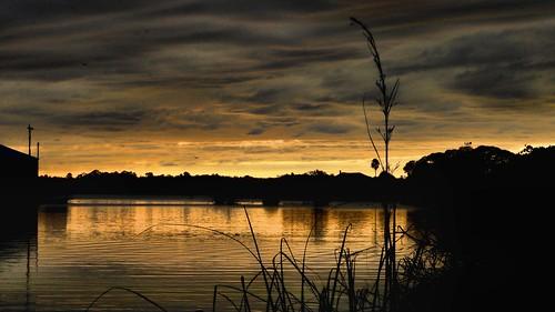 sunset tropical clounds flordia