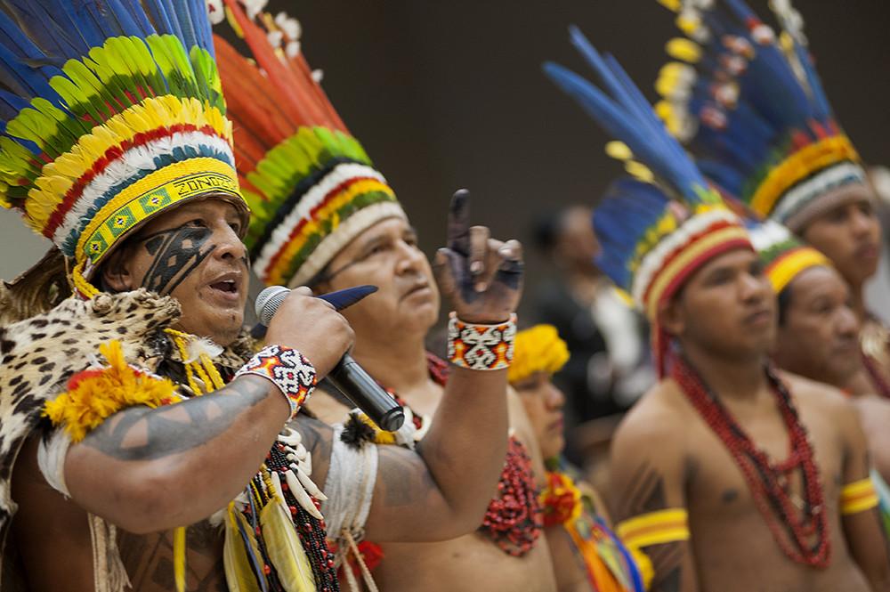 Abertura da 1º Conferência Nacional de Política Indigenista - Funai