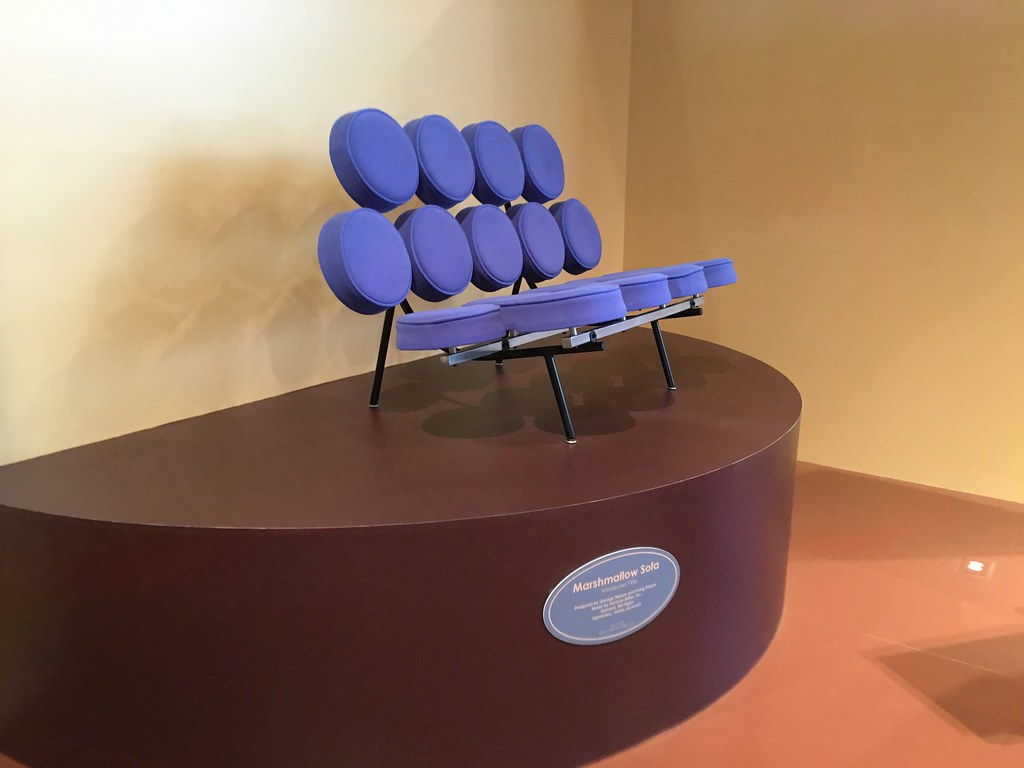 Marshmallow Sofa At The Henry Ford- Dearborn, MI