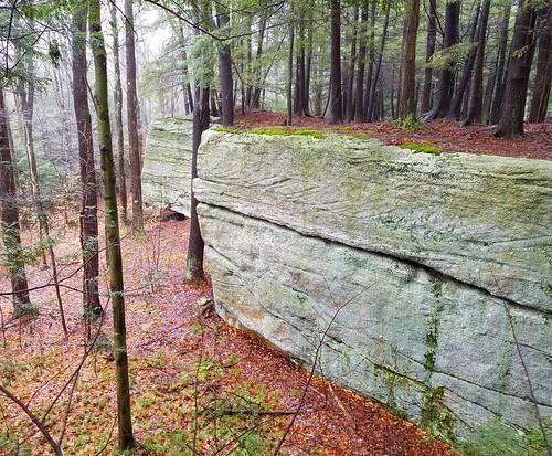 Triangular outcrops, Sawtooth Trail