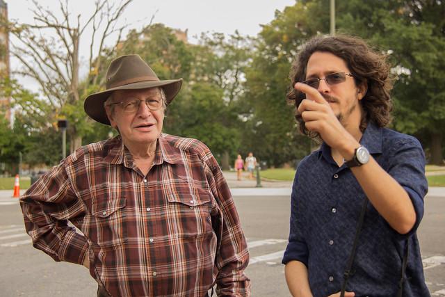Com Josias Teófilo - Foto: Mauro Ventura