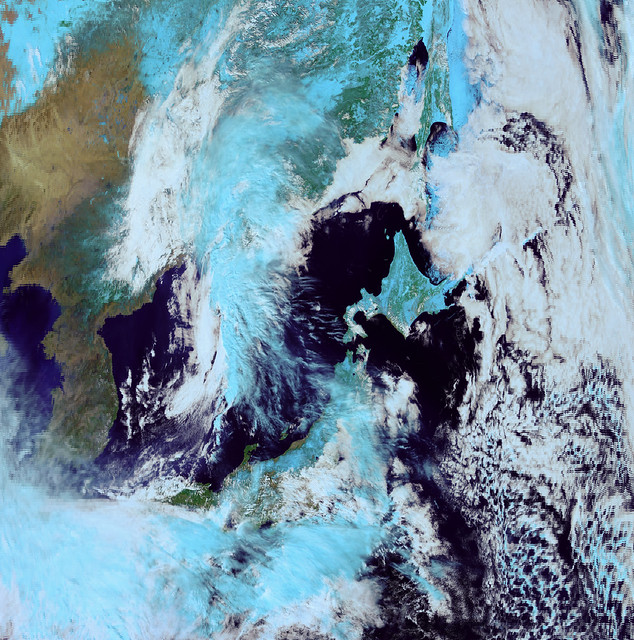 Incorrectly Colorful East Asia, 13 March 2017