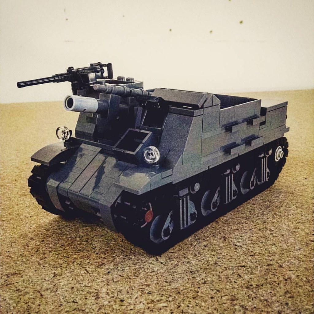 M7B1 Priest prototype  #lego #custom #brickmania #brickarm