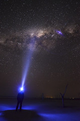 Lake Dumbleyung - Milky Way Self Portrait