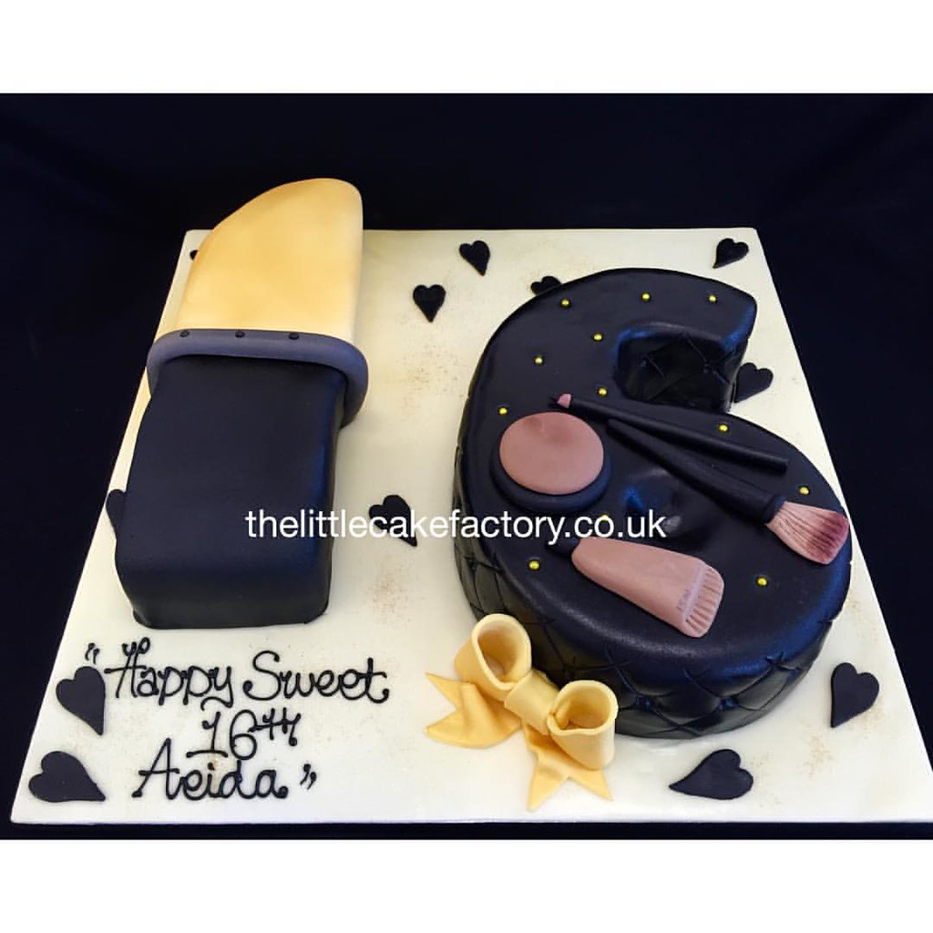 Sensational Sweet 16Th Number Birthday Cake Sweet16 Number 16 Birt Flickr Funny Birthday Cards Online Necthendildamsfinfo