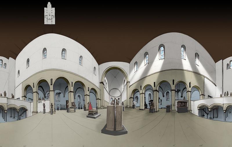 Schnütgen Museum Cologne · St. Cäcilien 360° Panorama