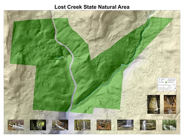 Lost Creek State Natural Area, White County, Tennessee