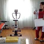 4 Therapiegerät, Ergometer