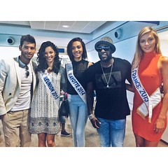 Welcome to Mayotte ⭐️??❤️ #kaysha #missfrance2015 #misreunion #missmayotte Ready for the show tonight and tomorrow