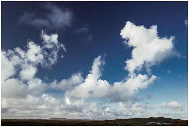 Sky over Isle of Lewis