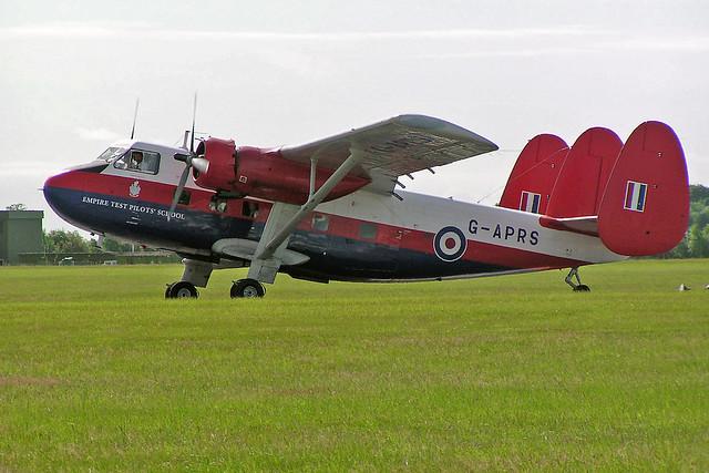G-APRS SA.Twin Pioneer 3 Aviation Heritage Ltd 03-07-05 RAF Waddington