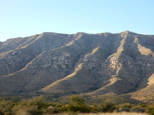 Texas - onderweg naar Guadalupe Mountains National Park - 3