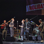 Sat, 05/12/2015 - 11:46pm - Our 11th holiday benefit concert, December 4 at The Beacon Theatre in New York City: Brandi Carlile & Friends with Dawes, Sharon Jones & The Dap-Kings, and Lucius. Photo by Gus Philippas/WFUV