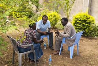 Field training in Juba, South Sudan