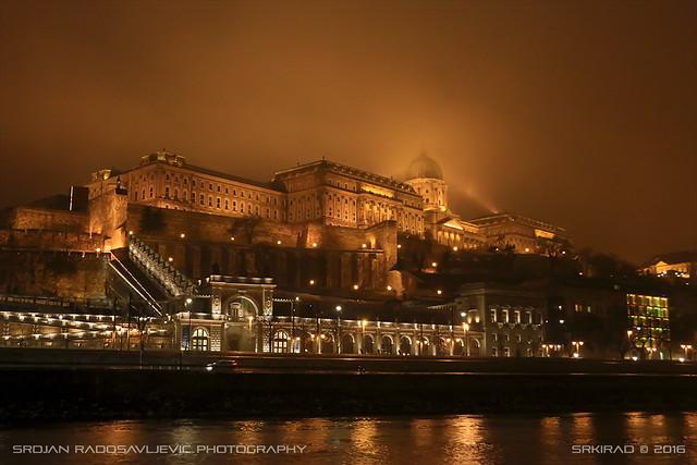 Budavári Palota (Buda castle in Budapest)
