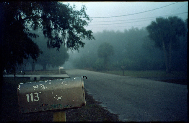 Fog and old film